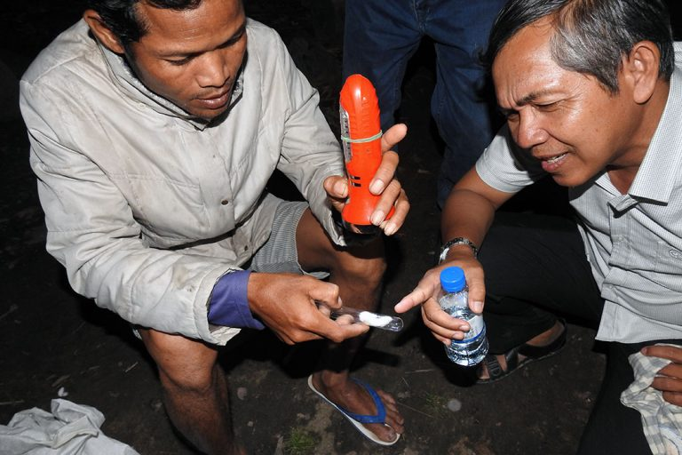 Village Volunteers Help Combat Malaria in Cambodia