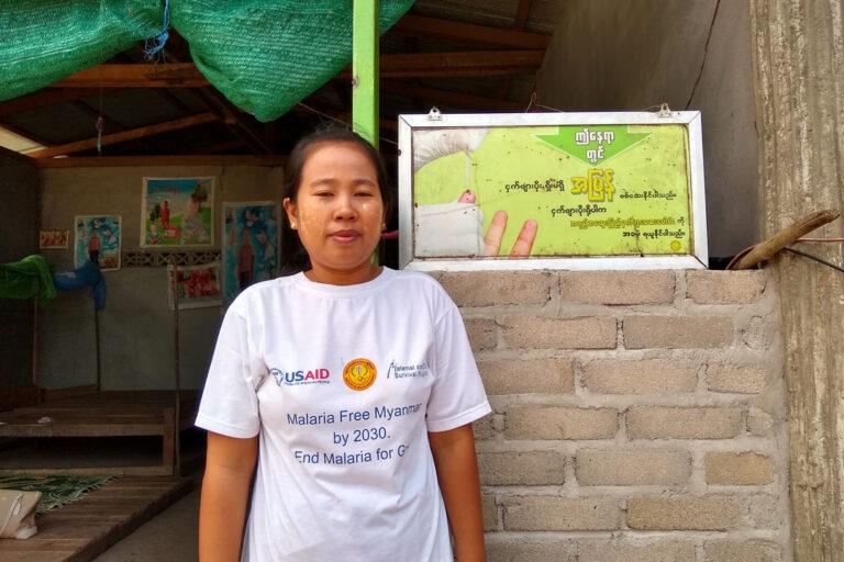 Village Malaria Workers Bring Myanmar Closer to Malaria Elimination