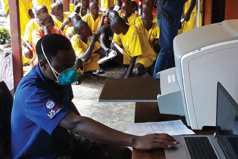 Screening for Tuberculosis in Uganda Prisons