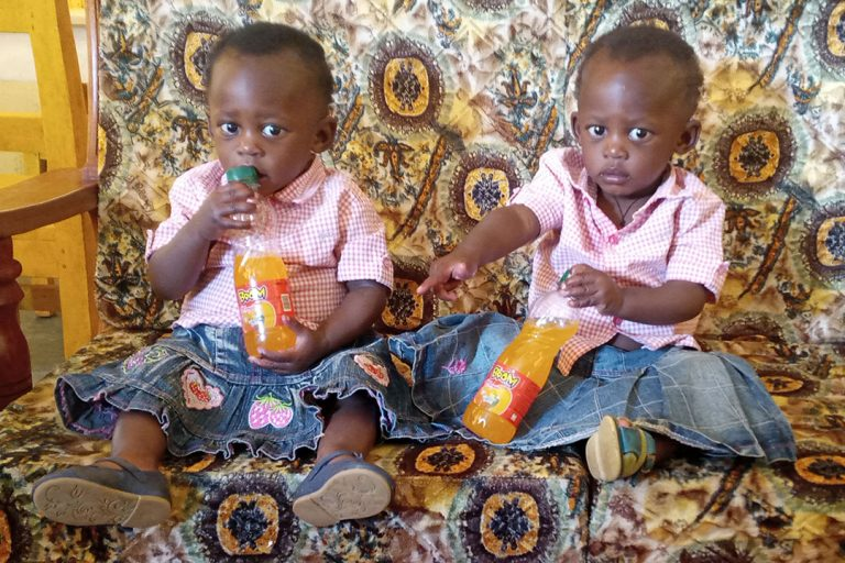 Timely Intervention Saves Twin AIDS Orphans