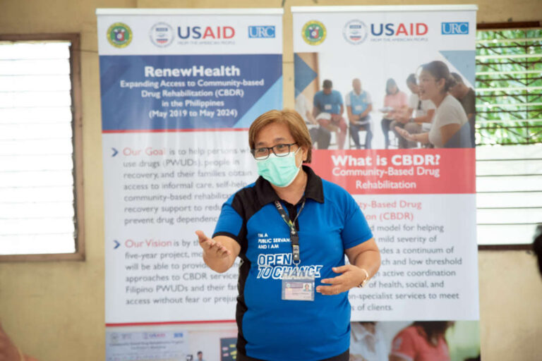 Private Sector Engagement Enhances Community-Based Drug Rehabilitation in the Philippines