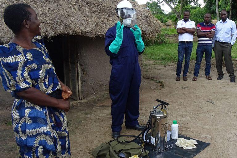 Indoor Residual Spraying Helps Reduce Malaria Burden in East Central Uganda
