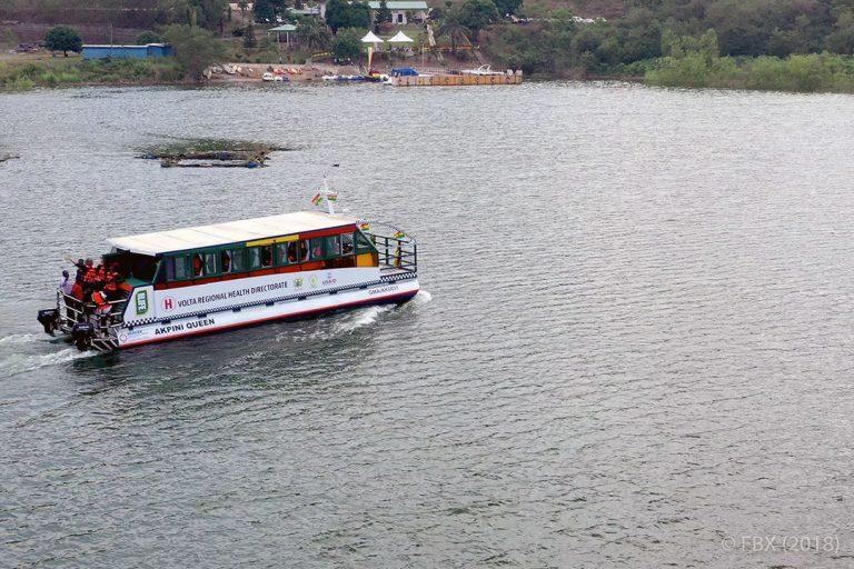 Cruising to Better Health on Lake Volta